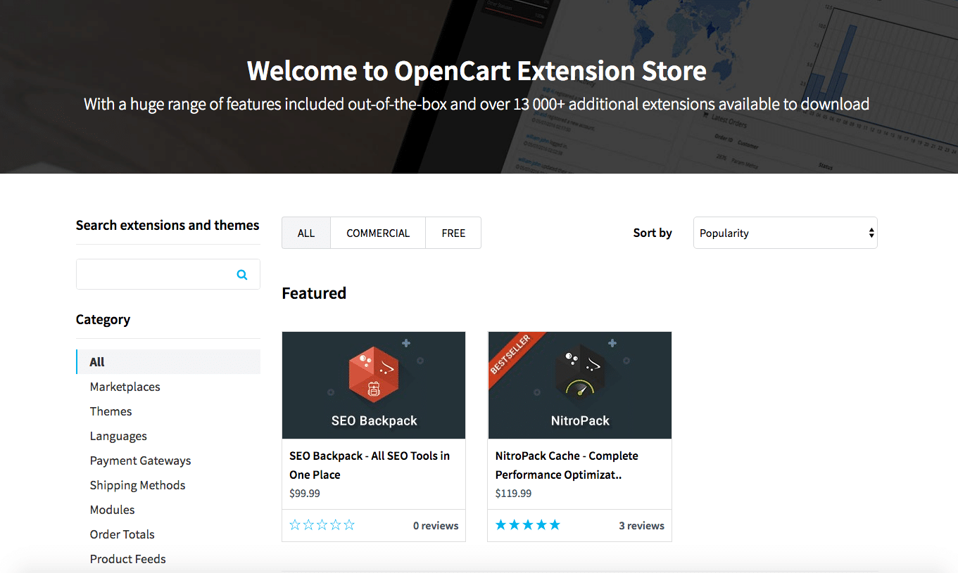 OpenCart x Magento Comparativo - Crie uma loja online que se adapta ao seu negócio 10