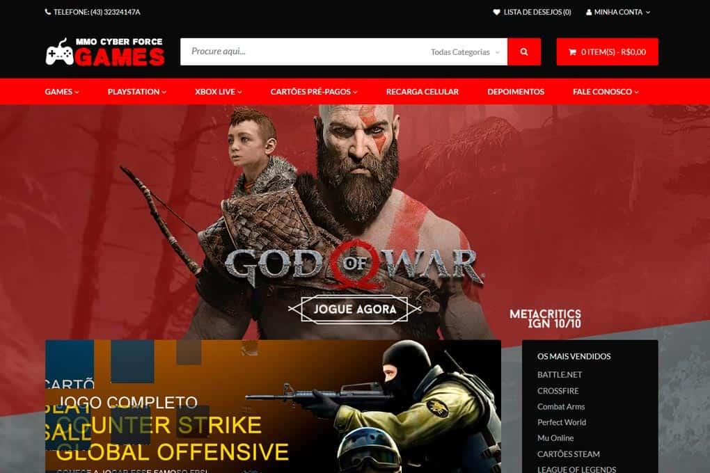 Portfólio de Sites e Loja Virtuais 2