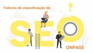 fatores de classificação de SEO On-Page